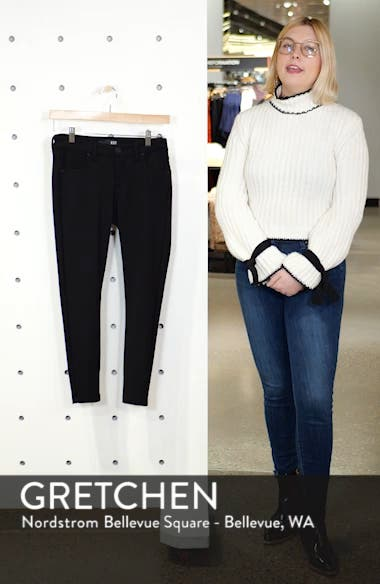 Donna High Waist Ponte Skinny Pants, sales video thumbnail