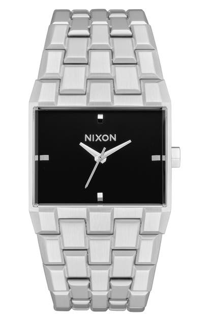 Nixon Watches THE TICKET BRACELET WATCH, 34MM
