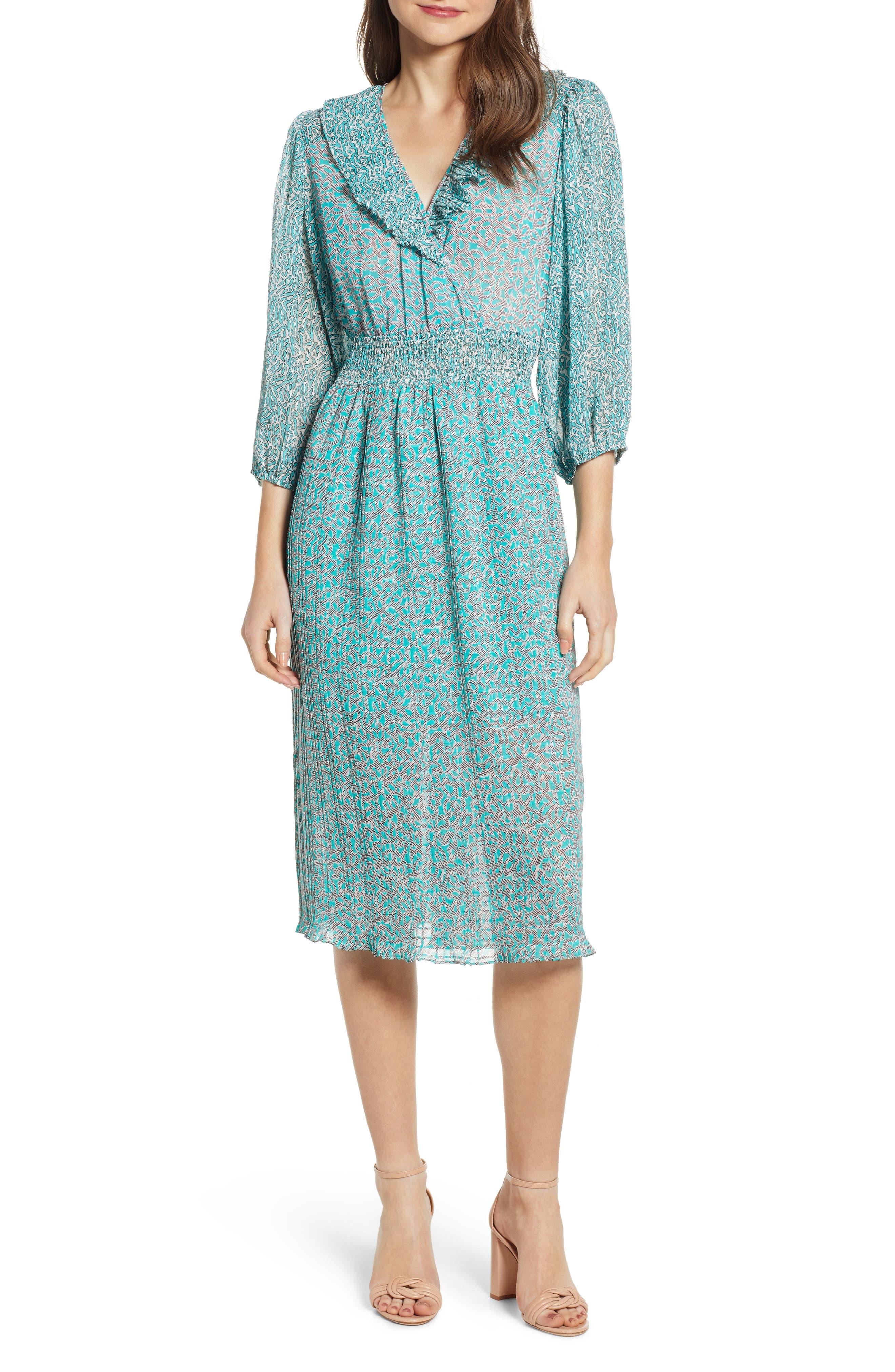 Vera Moda Mathilde Party Dress, Blue