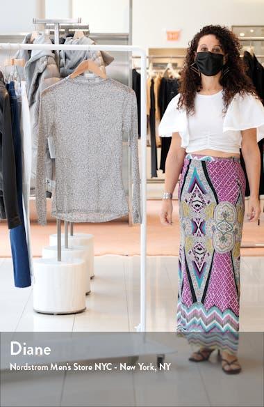 Women's Sheer Luck Long Sleeve Mesh T-Shirt, sales video thumbnail