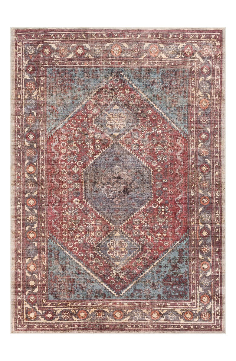 SURYA HOME Amelie Area Rug, Main, color, RED