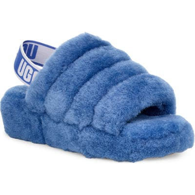 Ugg Fluff Yeah Genuine Shearling Slide, Purple