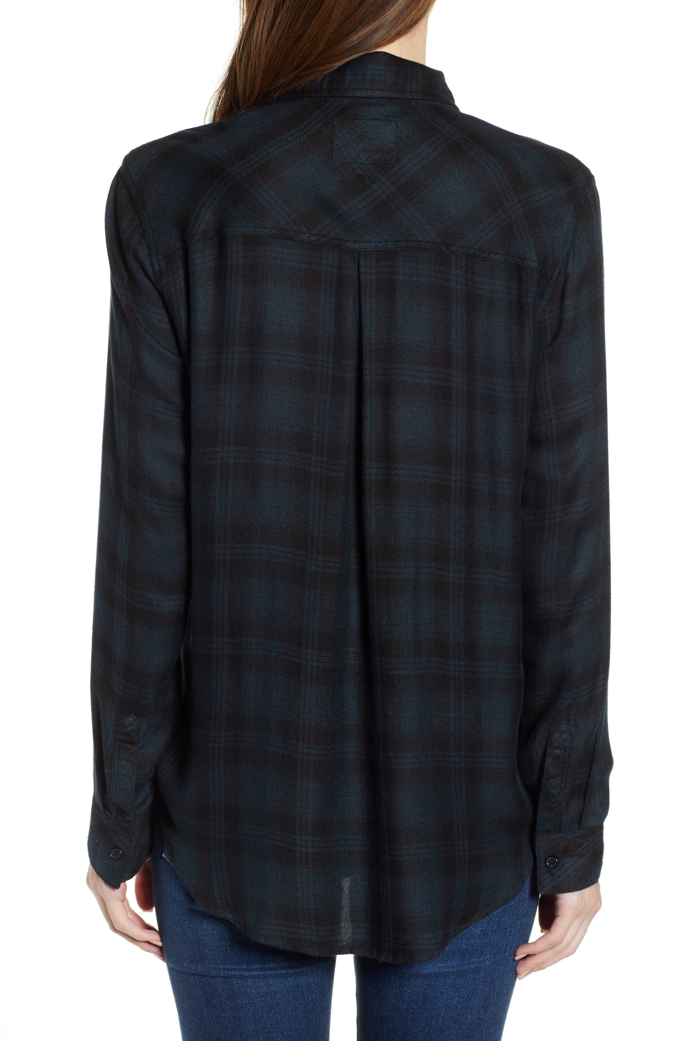 ,                             Hunter Plaid Shirt,                             Alternate thumbnail 484, color,                             002