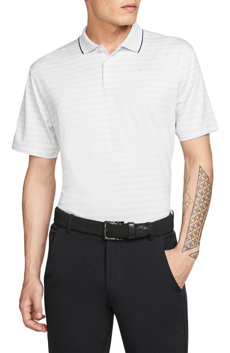NIKE Dri-FIT Vapor Golf Polo, Main, color, PURE PLATINUM/ PURE