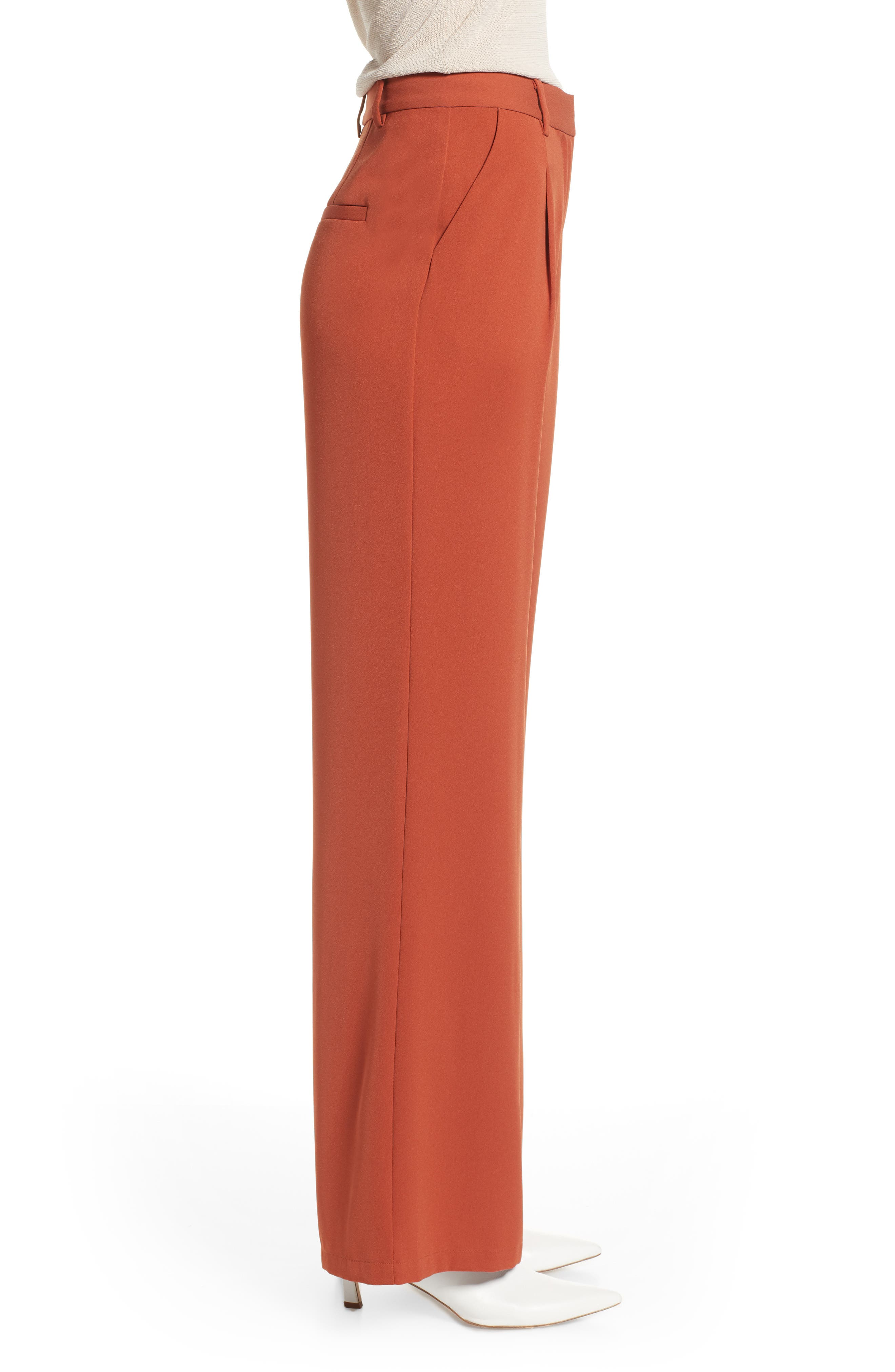 ,                             High Waist Flare Pants,                             Alternate thumbnail 17, color,                             210
