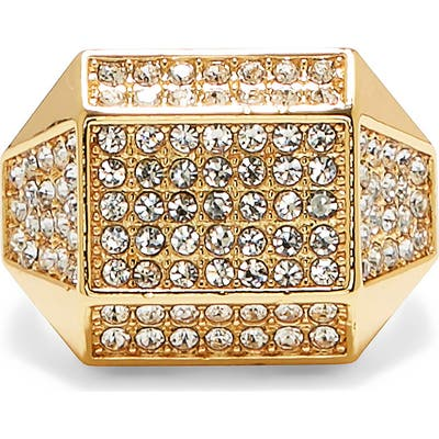 Vince Camuto Geometric Pave Ring