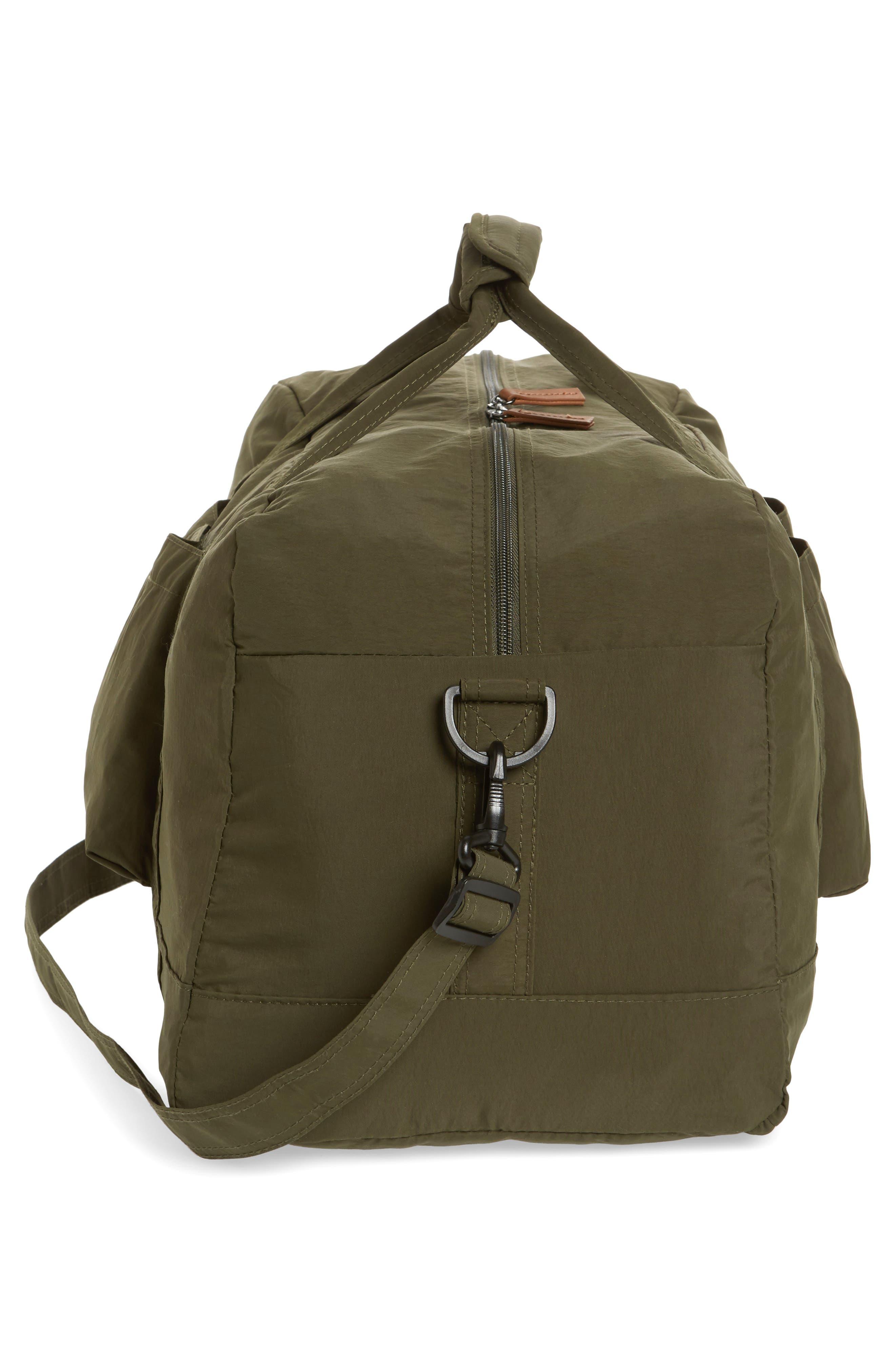 ,                             Banchory Packable Duffle Bag,                             Alternate thumbnail 5, color,                             DARK GREEN