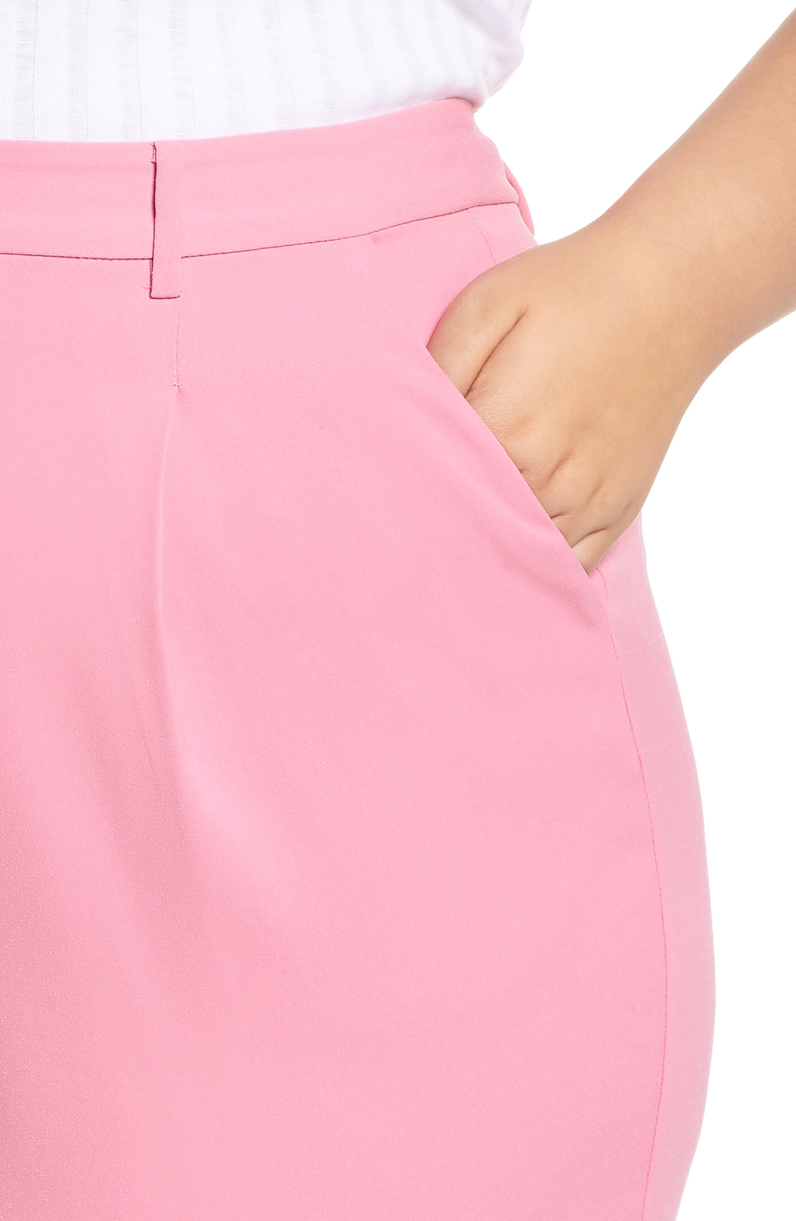 ,                             High Waist Flare Pants,                             Alternate thumbnail 39, color,                             660