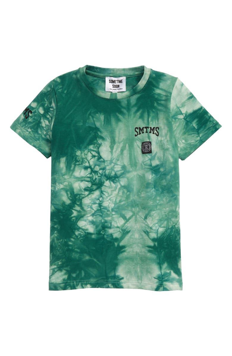 SOMETIME SOON Laguna Tie Dye Organic Cotton T-Shirt, Main, color, 300