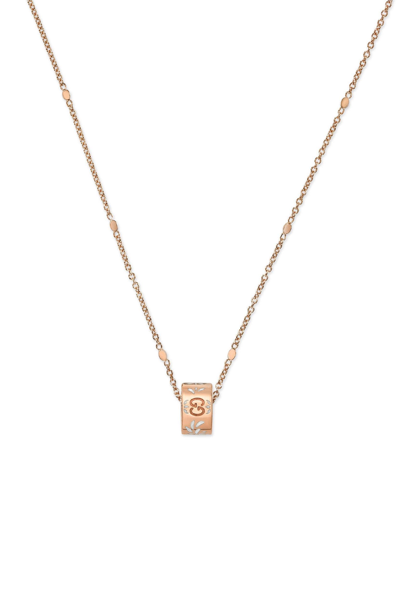 fb37836da Gucci Icon Pendant Necklace   Nordstrom