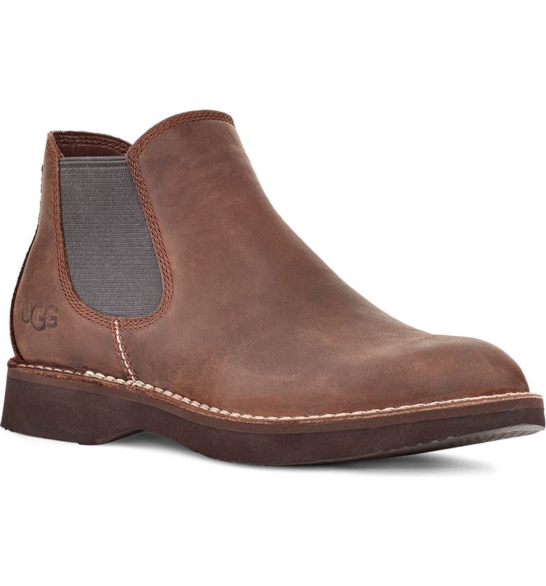 UGG<SUP>®</SUP> Camino Chelsea Boot, Main, color, GRIZZLY