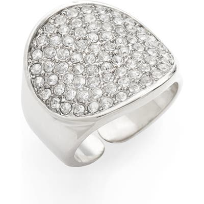 Lisa Freede Adjustable Pave Signet Ring