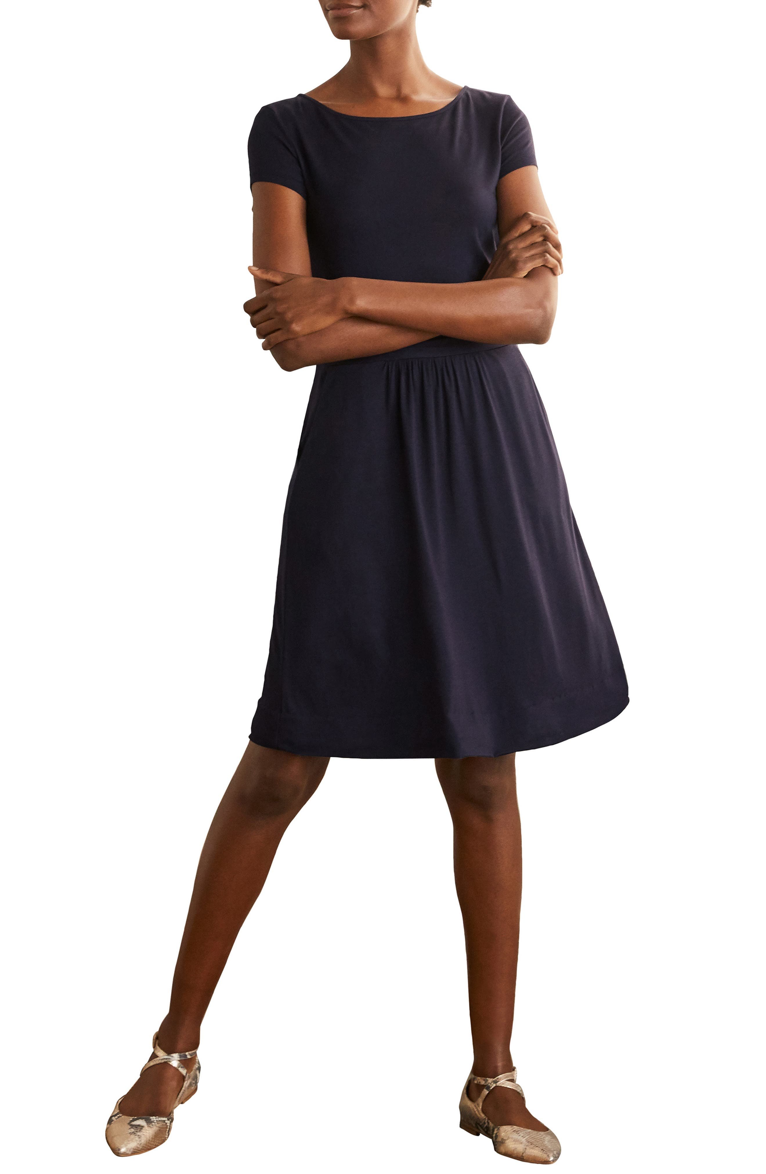 Amelie Print Jersey Dress