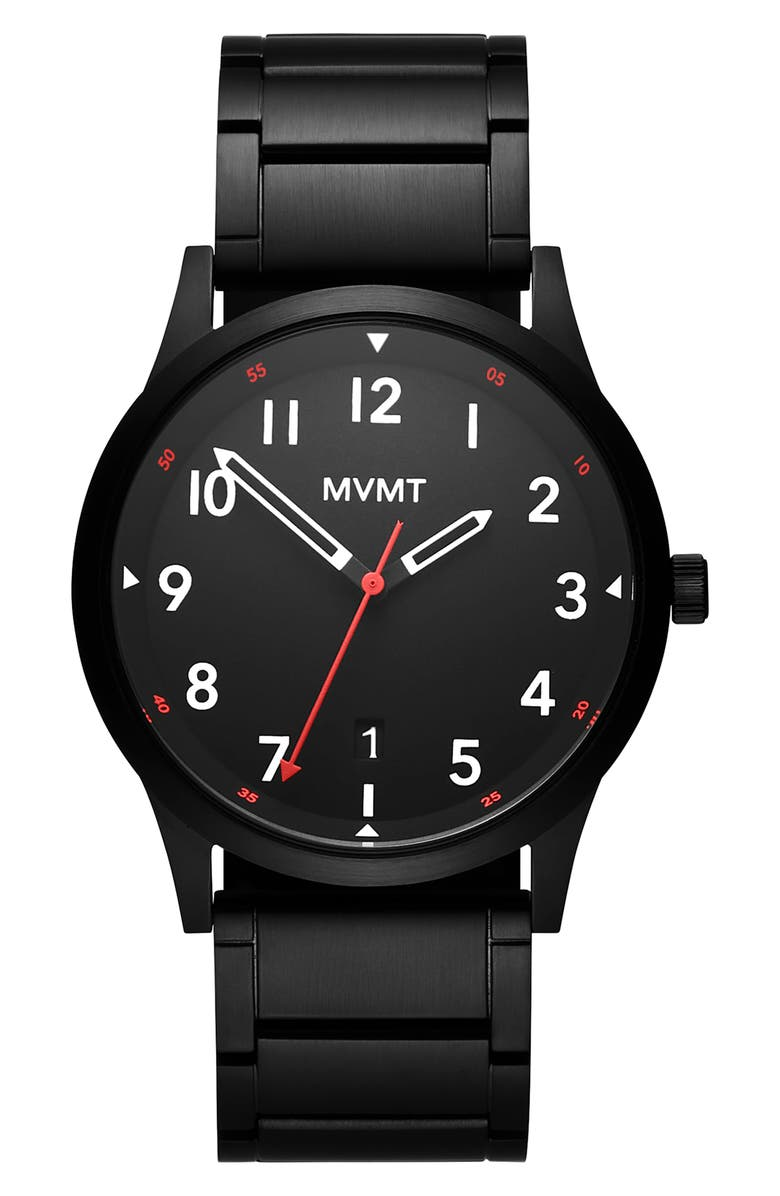 MVMT Field Bracelet Watch, 41mm, Main, color, 001