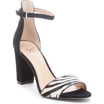 Vince Camuto Corlina Ankle Strap Sandal- Grey (Nordstrom Exclusive)