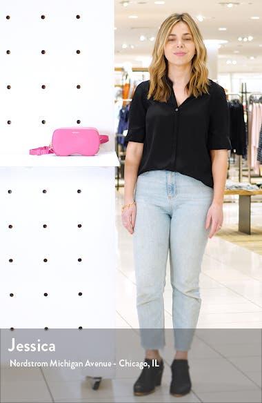 Coda Leather Belt Bag, sales video thumbnail