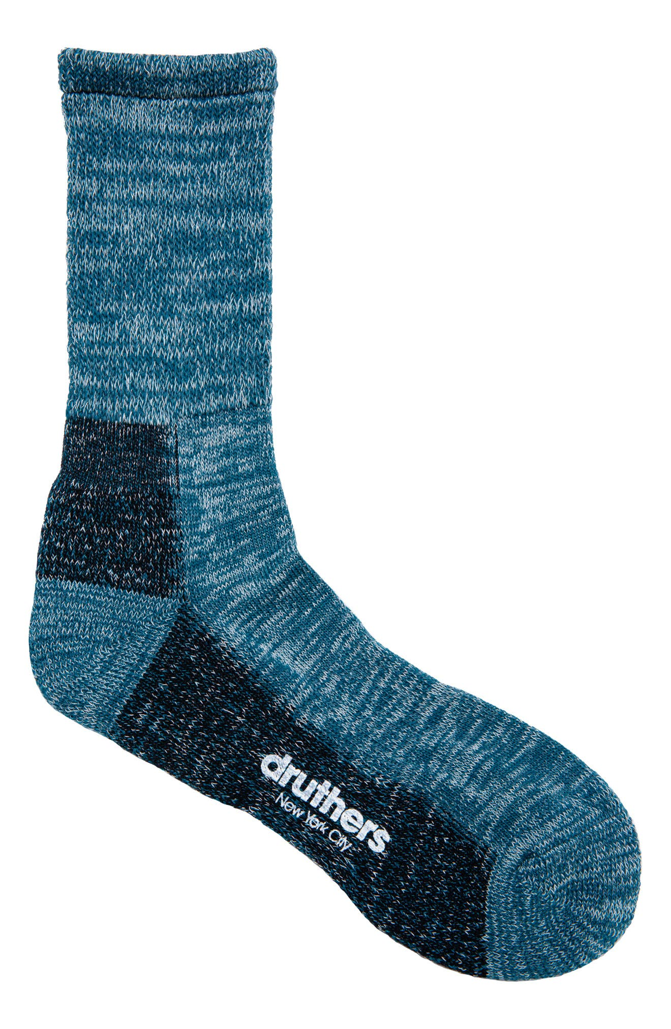 Everyday Organic Cotton Blend Crew Socks