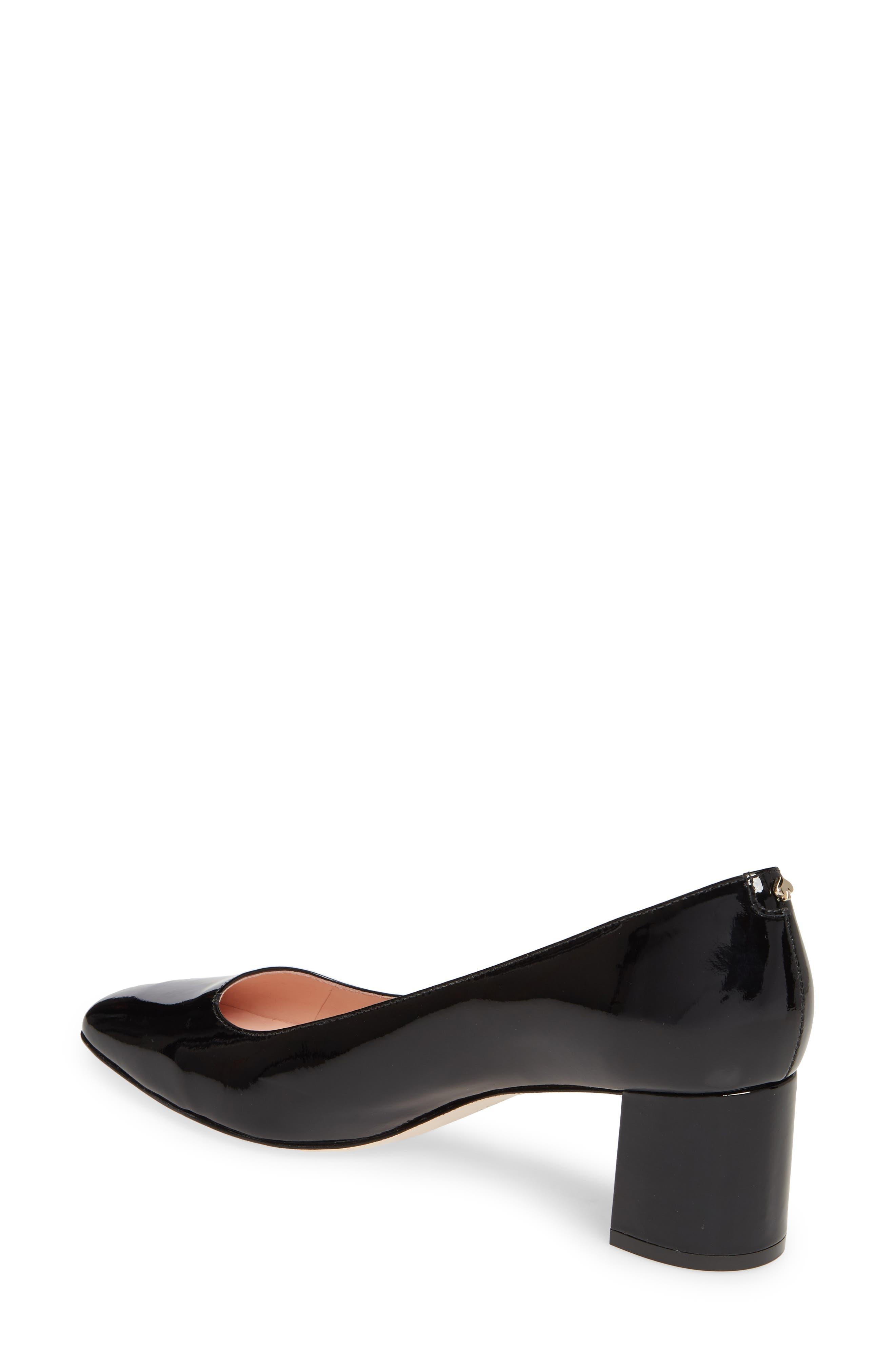 ,                             kylah block heel pump,                             Alternate thumbnail 2, color,                             BLACK PATENT