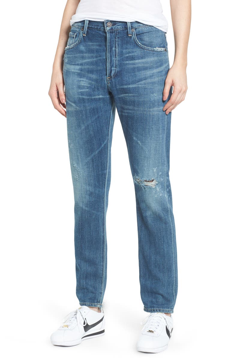 CITIZENS OF HUMANITY Corey Slouchy Slim Jeans, Main, color, MANTECA