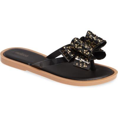 Melissa Sweet Flip Flop, Black