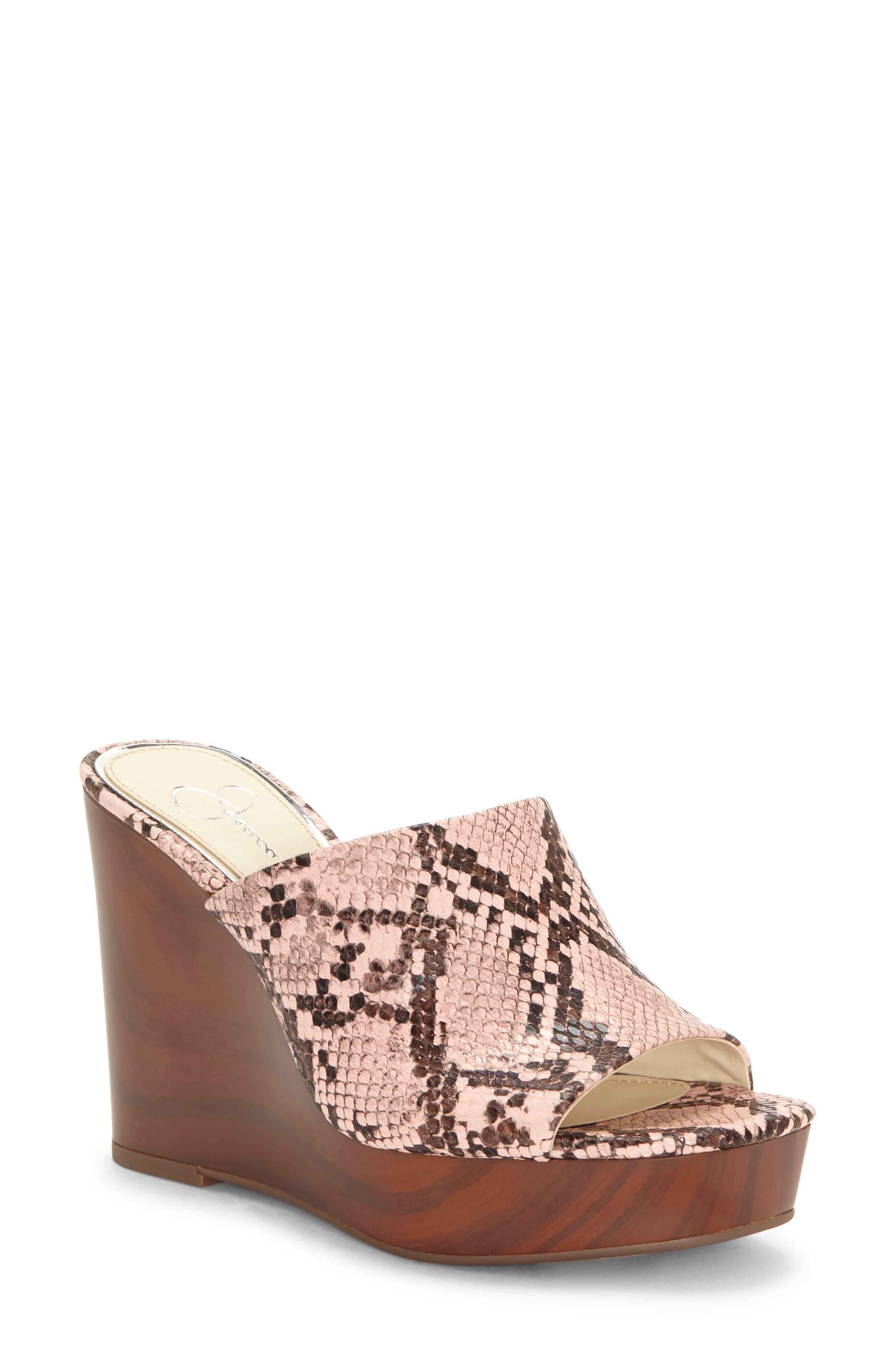Shantelle Wedge Slide Sandal