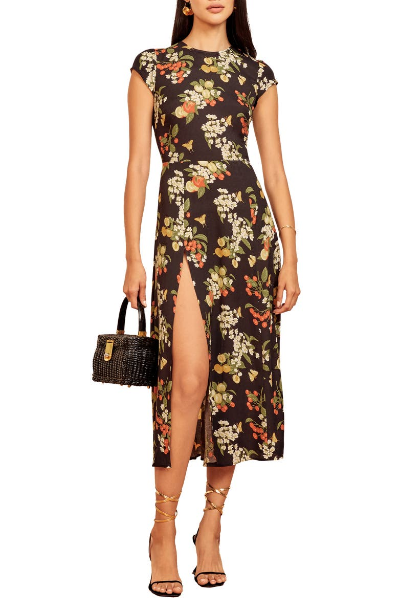 REFORMATION Gavin Dress, Main, color, SUMMER SOIREE