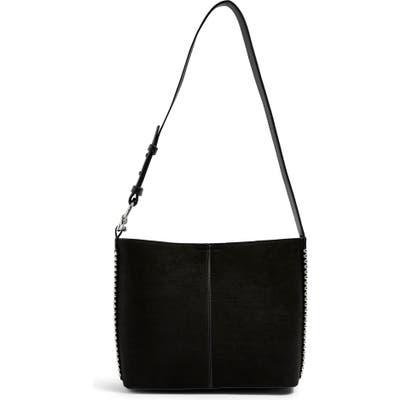 Topshop Bee Stud Handbag - Black