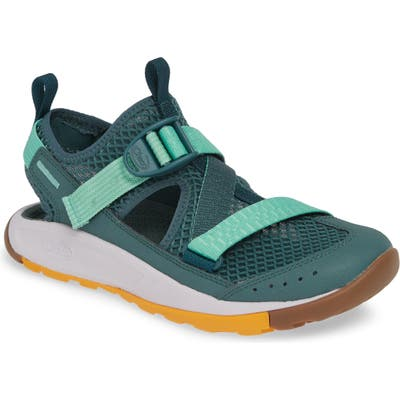 Chaco Odyssey Amphibious Hiking Shoe, Green