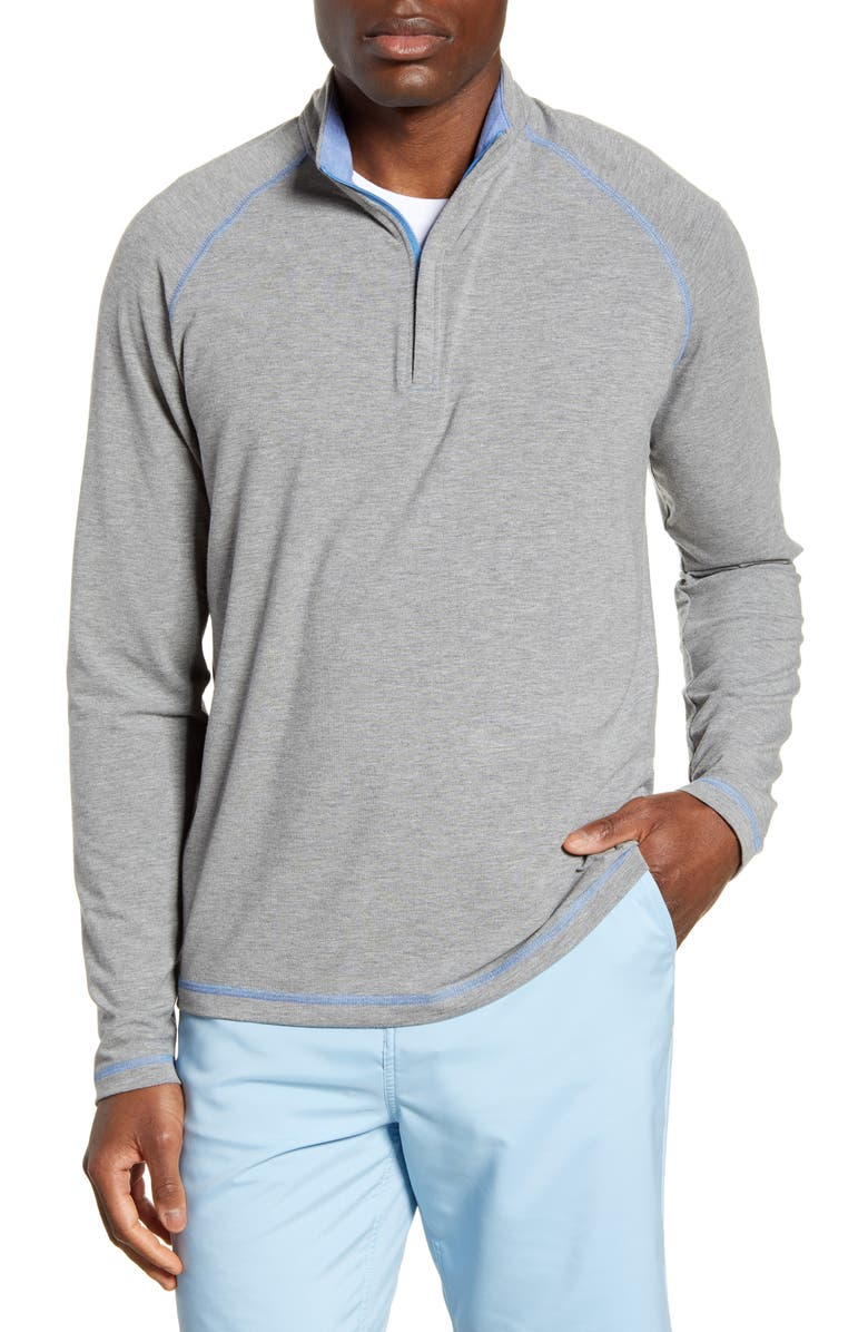 JOHNNIE-O Collier Classic Fit Half-Zip Pullover, Main, color, 021