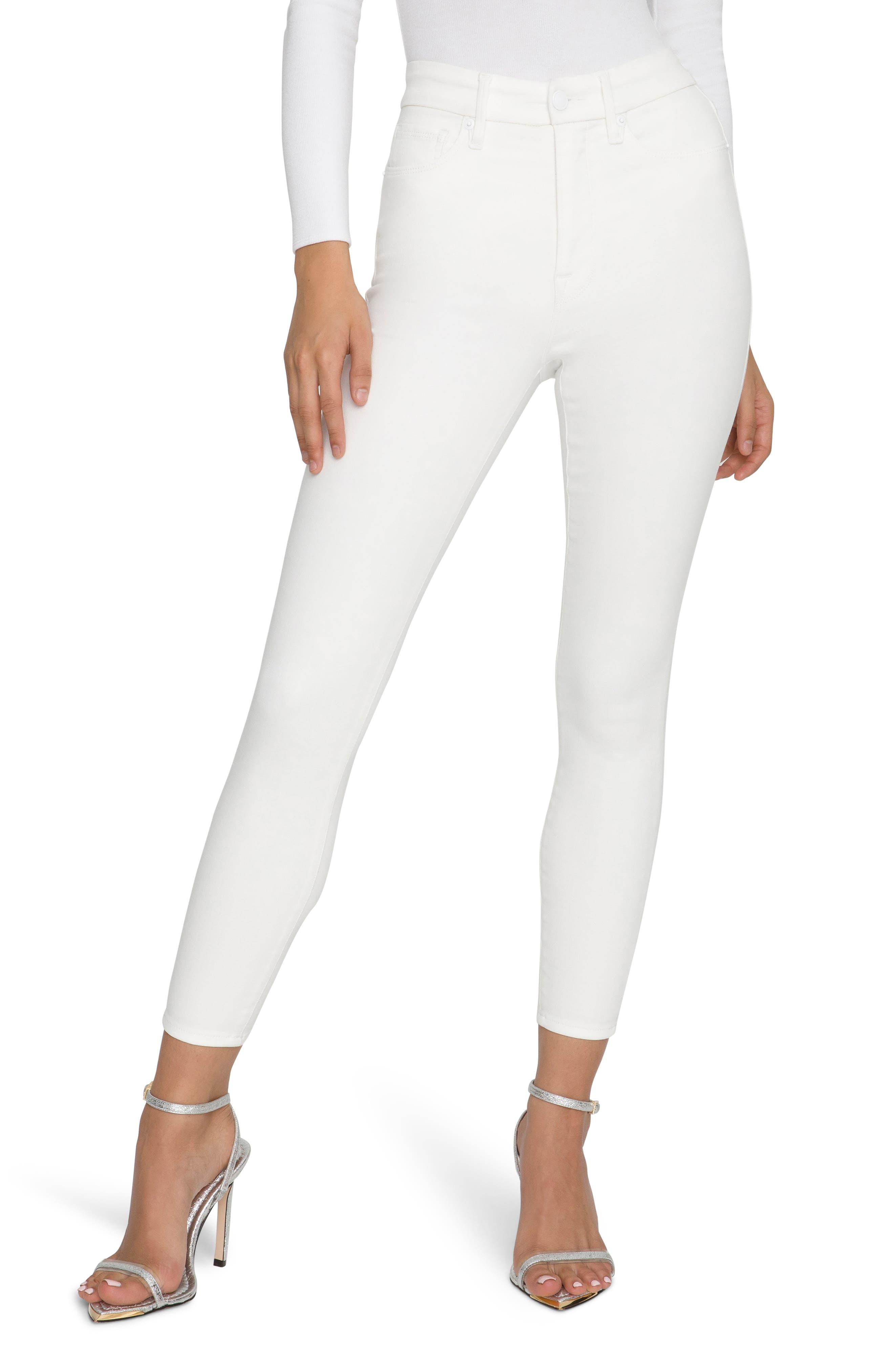 Good Waist Extreme-V Ankle Skinny Jeans