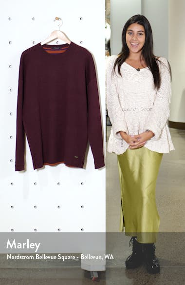 Reversible Crewneck Sweater, sales video thumbnail