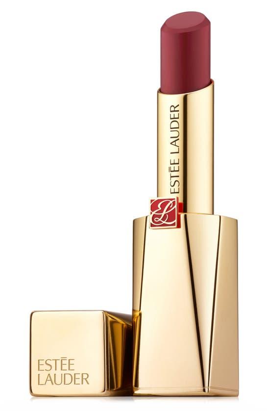 Estée Lauder Pure Color Desire Rouge Excess Creme Lipstick In Give In-creme