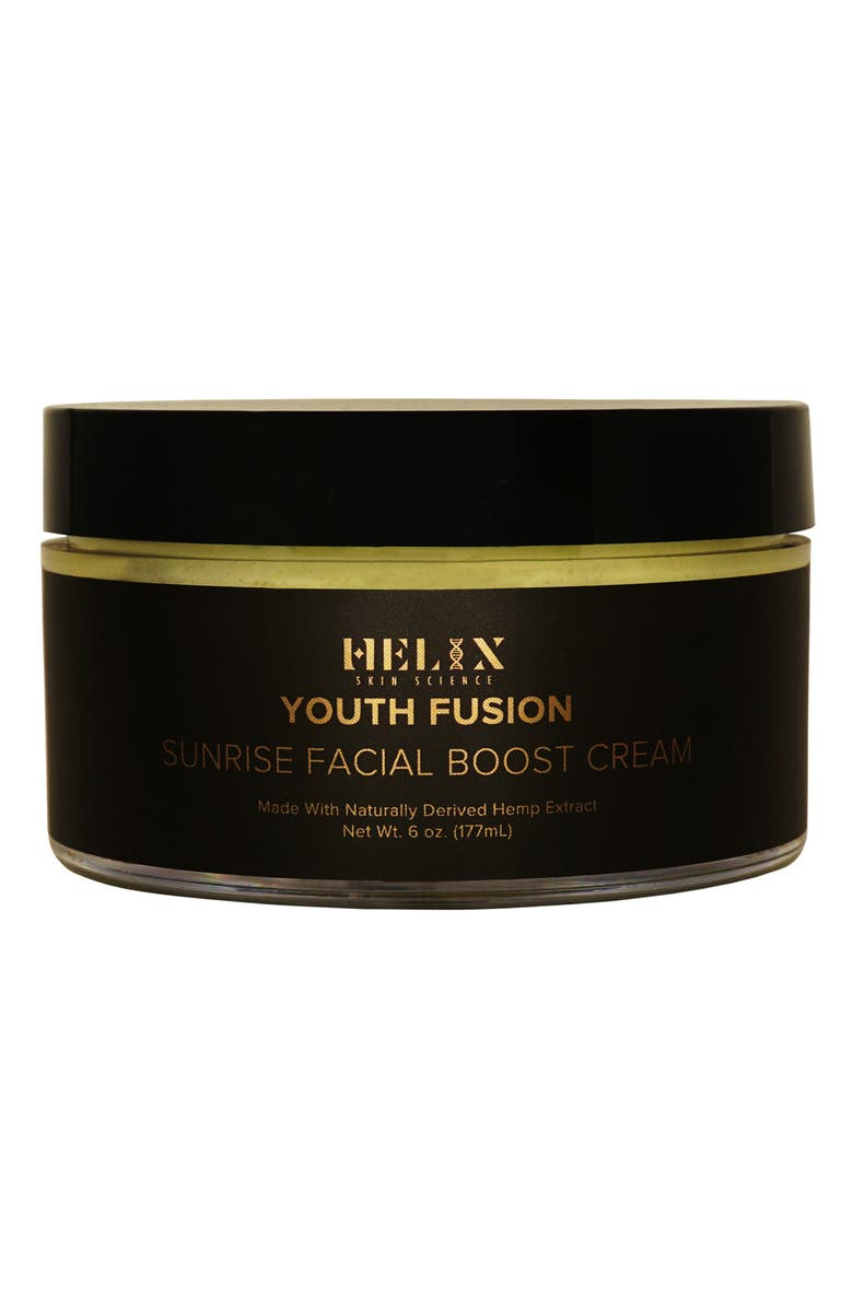 HELIX SKIN SCIENCE Youth Fusion Sunrise Facial Boost Cream with CBD, Main, color, NO COLOR