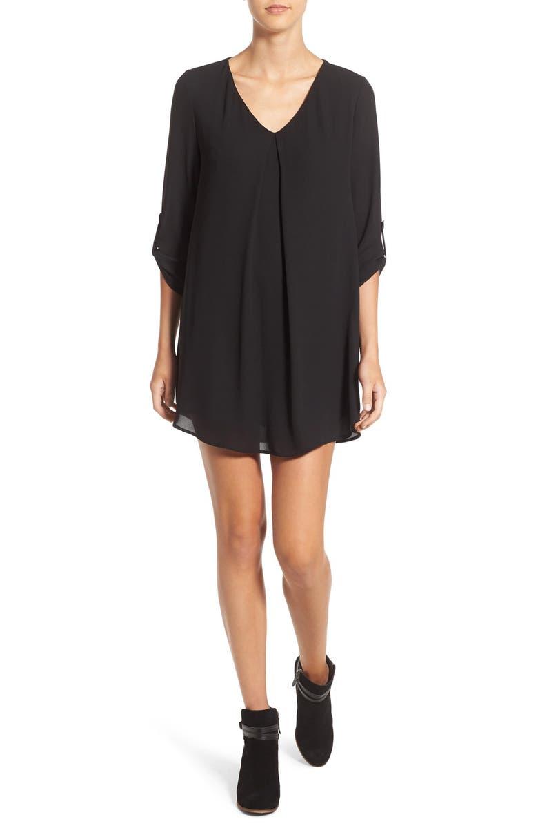 --- Karly Shift Dress, Main, color, 001