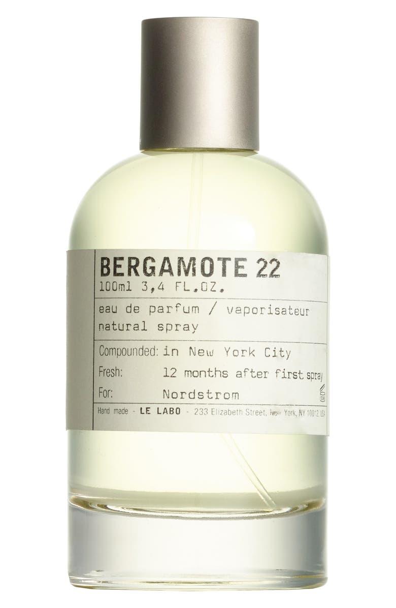 LE LABO 'Bergamote 22' Eau de Parfum, Main, color, NO COLOR
