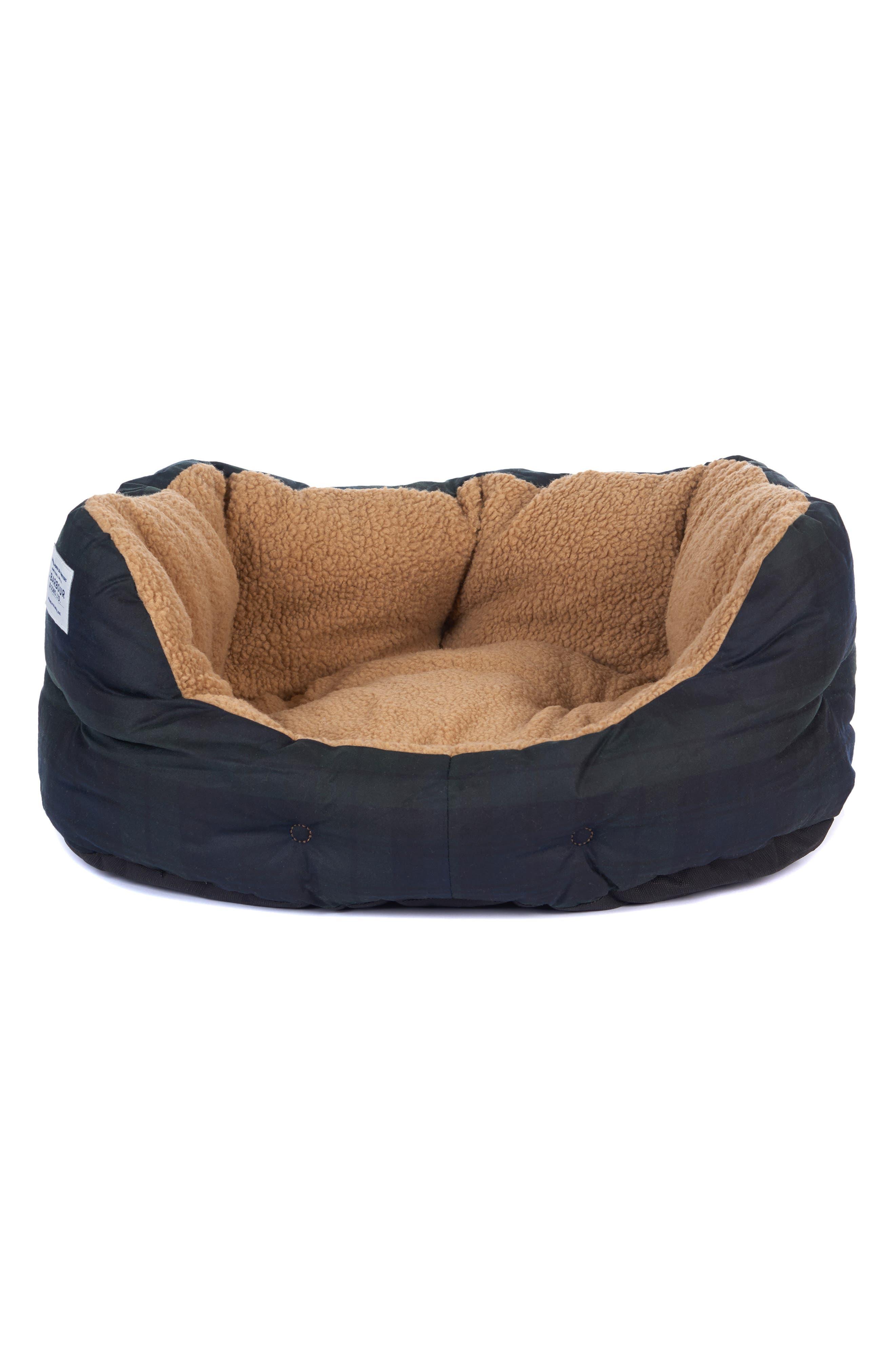 Image of Barbour Tartan Dog Bed