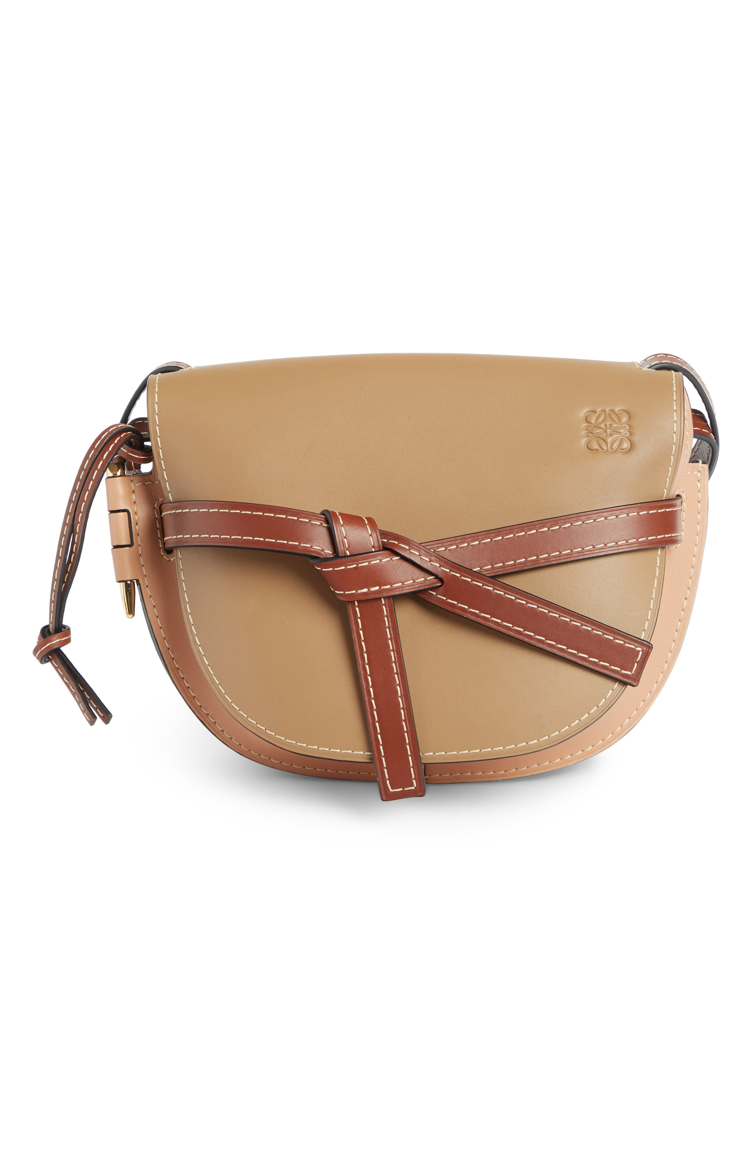 Loewe Gate Small Leather Crossbody Bag   Nordstrom