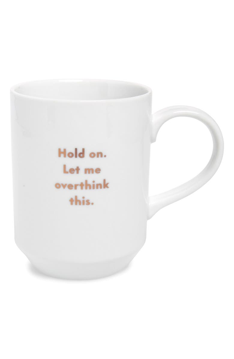 FRINGE STUDIO Hold On Mug, Main, color, WHITE