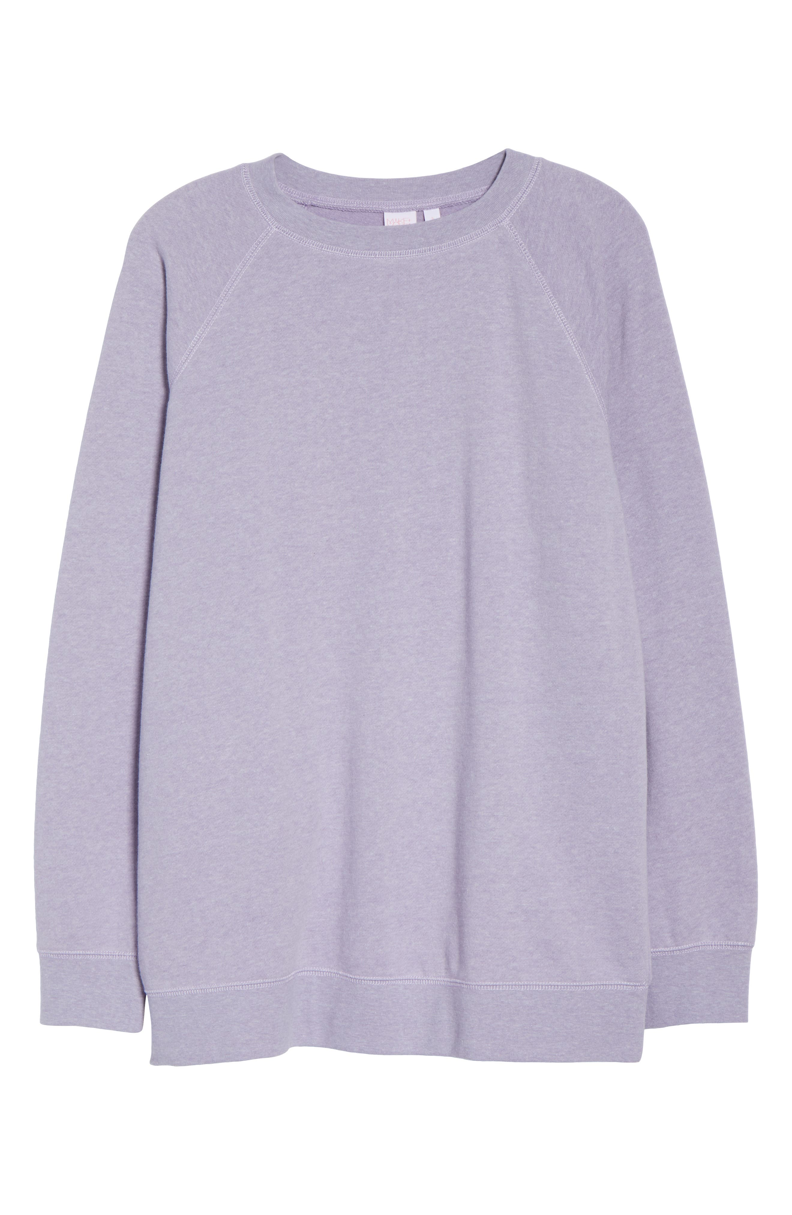 ,                             Easy Sweatshirt,                             Alternate thumbnail 6, color,                             510