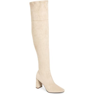 Jeffrey Campbell Parisah Over The Knee Boot- Ivory