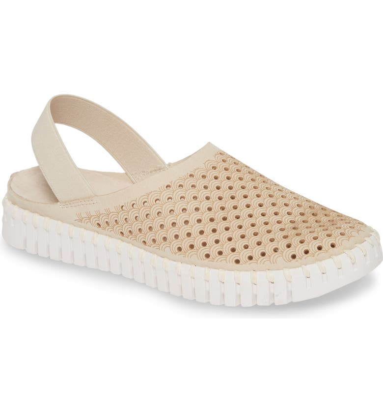 ILSE JACOBSEN Tulip Perforated Slingback Sneaker, Main, color, KIT FABRIC