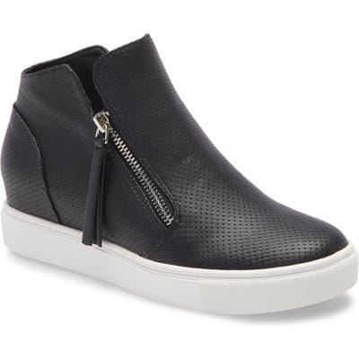 Steve Madden Caliber High Top Sneaker, Black
