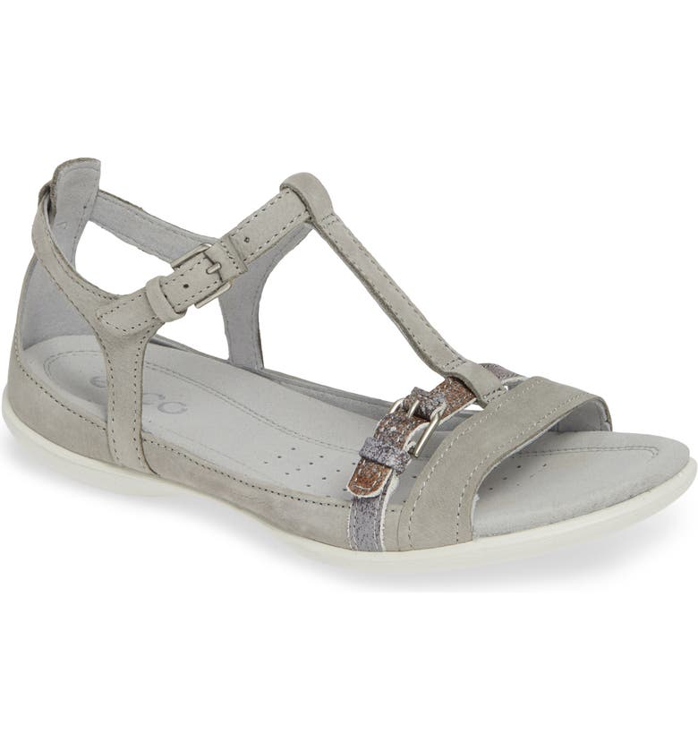 ECCO Flash T-Strap Sandal, Main, color, 055