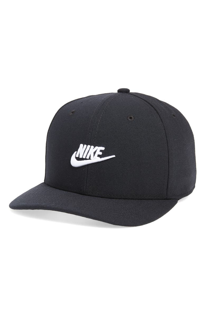 NIKE CLC99 Futura Snapback Baseball Cap, Main, color, BLACK/WHITE