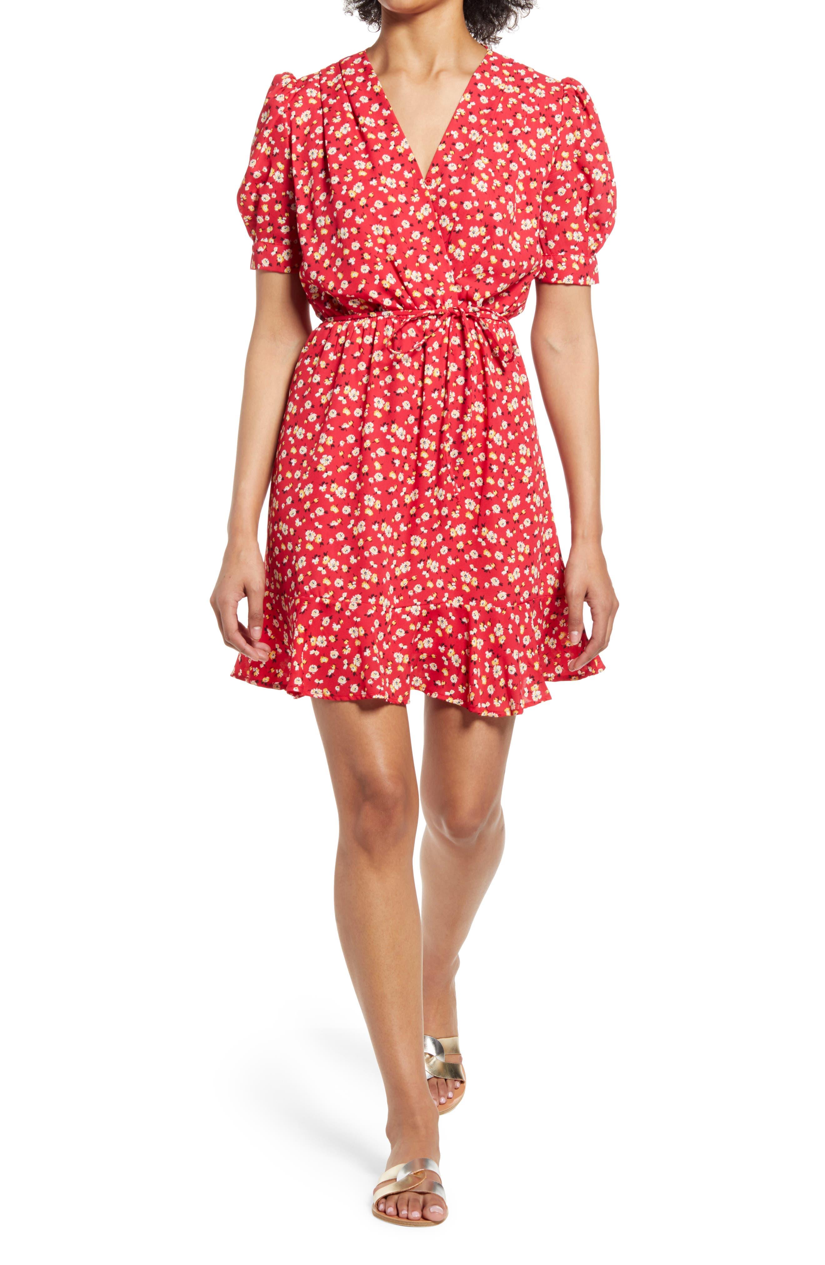 Melody Floral Wrap Dress