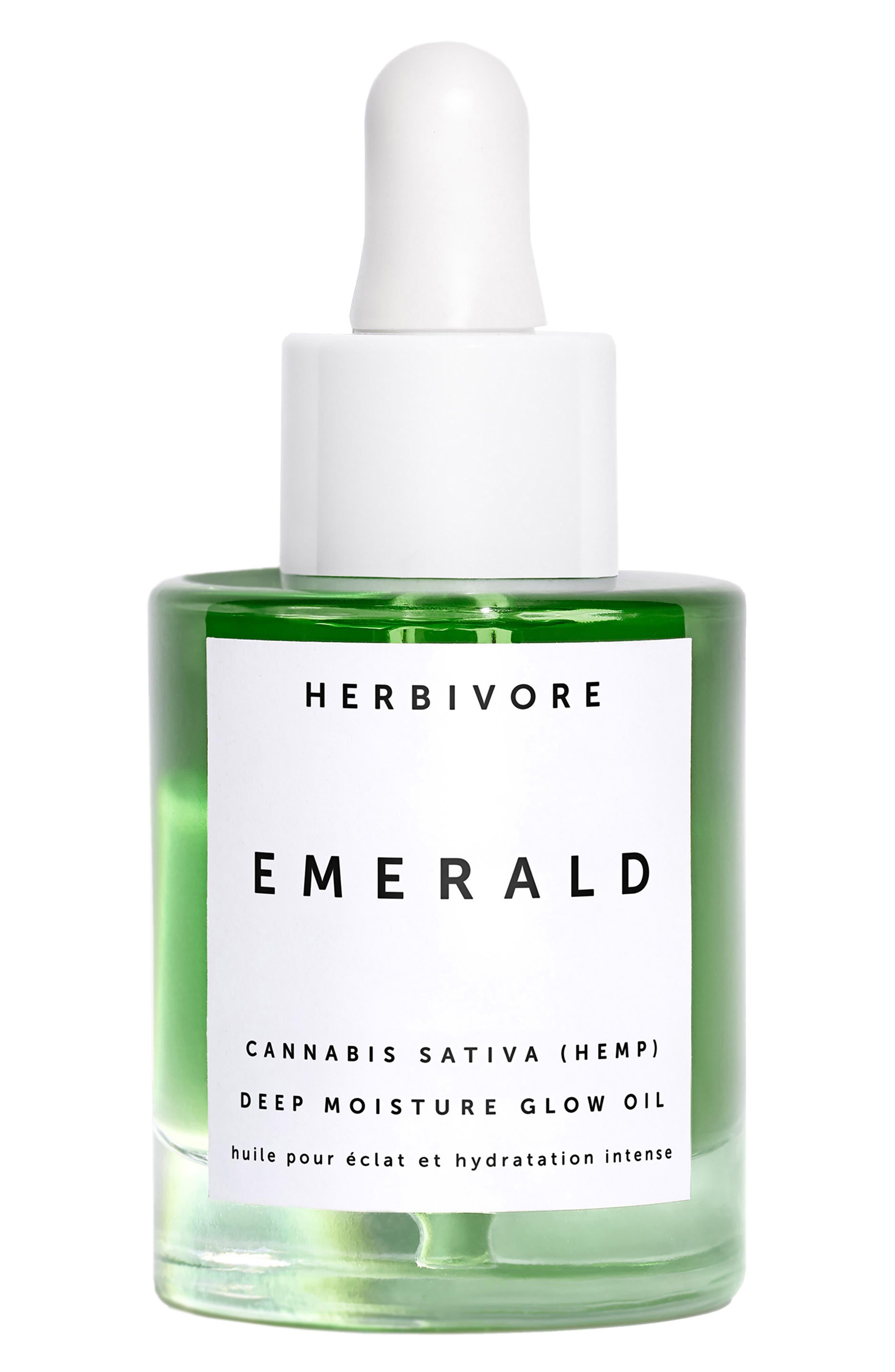 ,                             Emerald Deep Moisture Glow Oil,                             Main thumbnail 1, color,                             NO COLOR