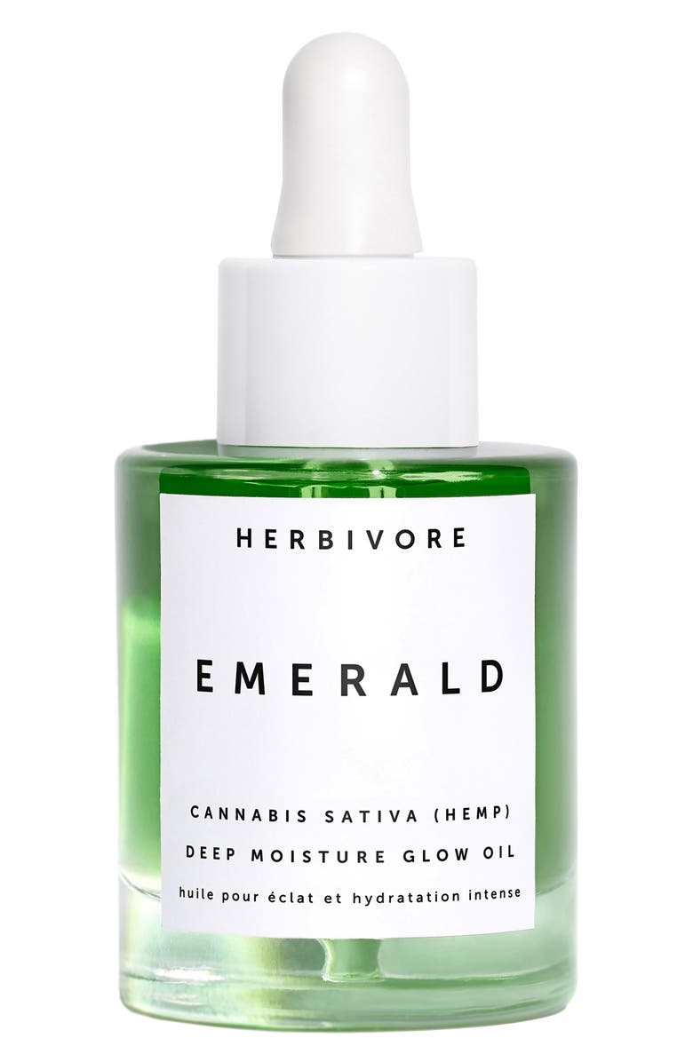 HERBIVORE BOTANICALS Emerald Deep Moisture Glow Oil, Main, color, NO COLOR