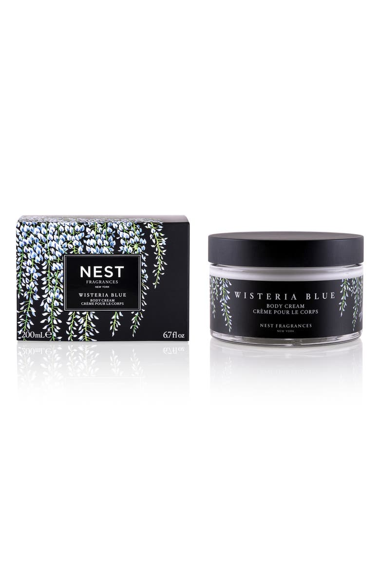 NEST FRAGRANCES Wisteria Blue Body Cream, Main, color, NO COLOR