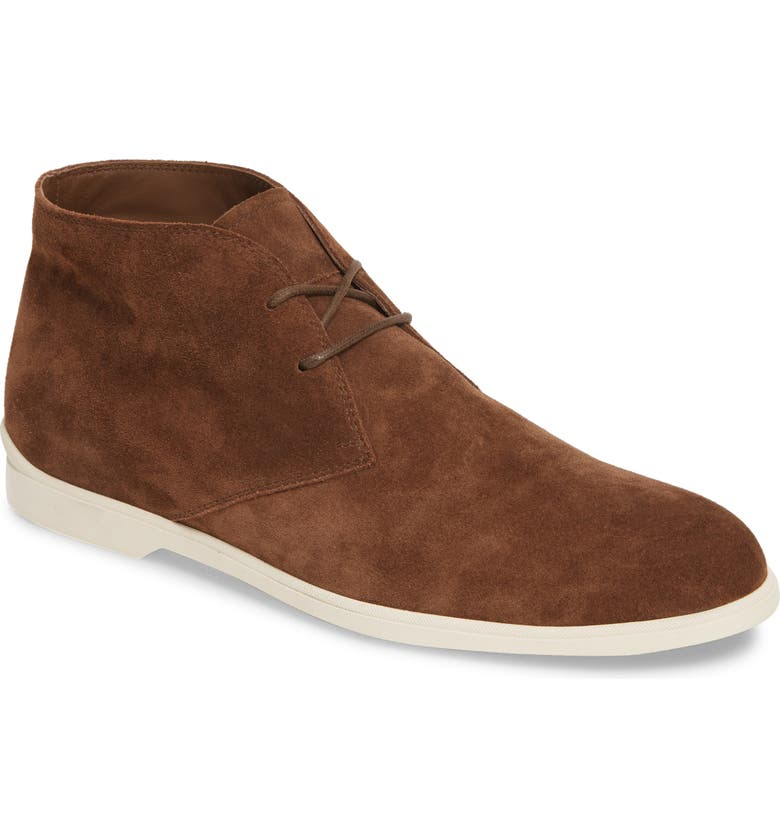 TOD'S Polacco Chukka Boot, Main, color, BROWN SUEDE