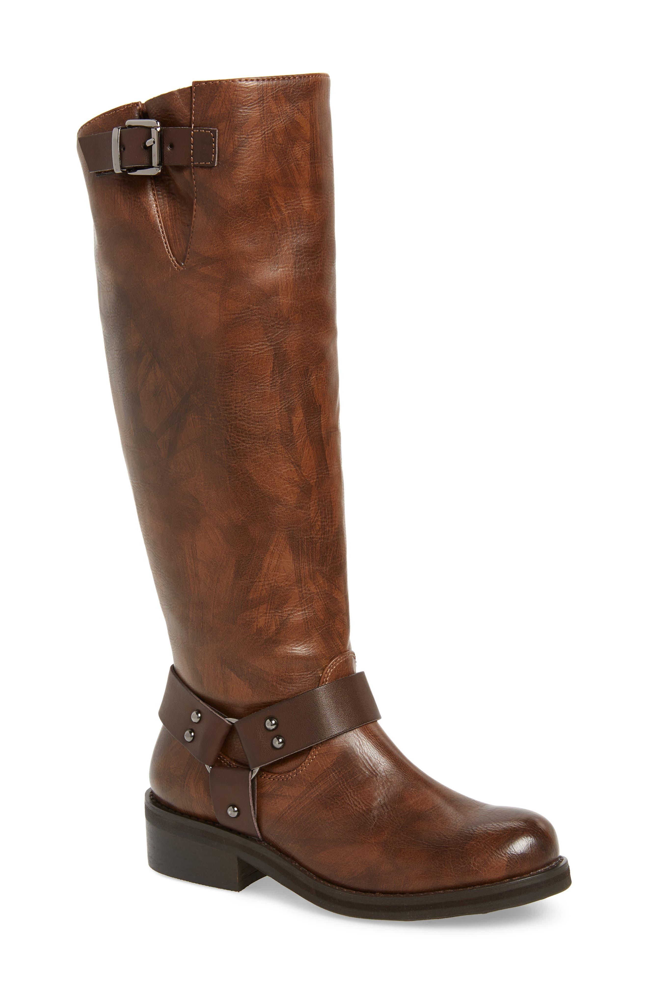 Very Volatile Pemberton Knee High Boot- Brown